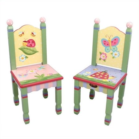 Fantasy Fields - Magic Garden Set of 2 Chairs Teamson Design Magic Garden