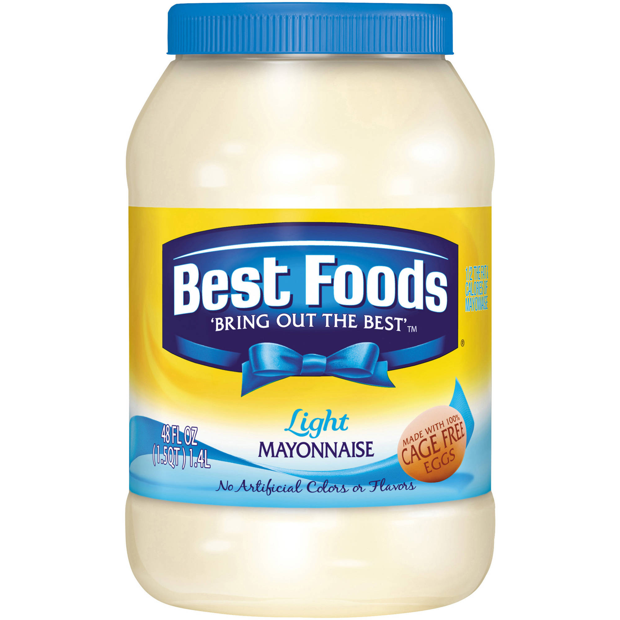 Best Foods Light Mayonnaise, 48 fl oz