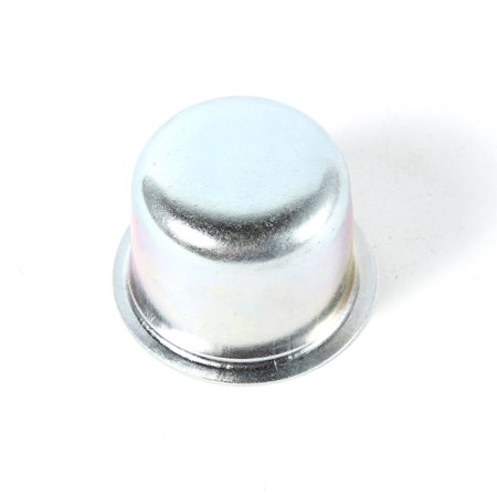 Omix-Ada 16712.02 Wheel Hub Bearing Dust Cap; Front; Zinc-Plated;