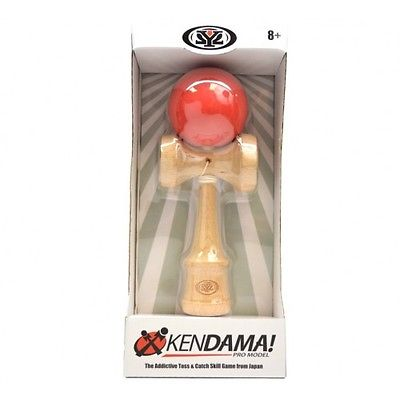 Yomega Pro Kendama - Rubberized Ball - Red