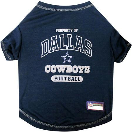 Pets First NFL Dallas Cowboys Pet T-shirt, Assorted Sizes