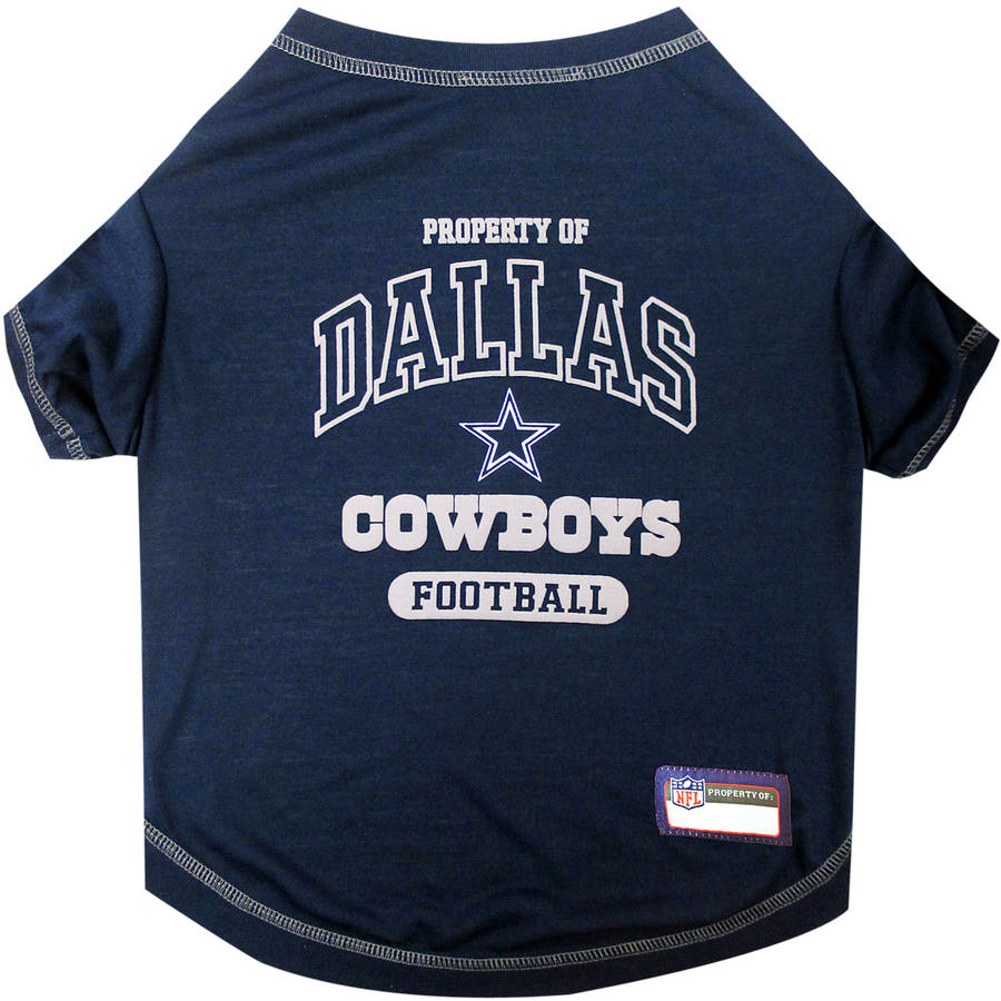 Pets First NFL Dallas Cowboys Pet T-shirt, Assorted Sizes