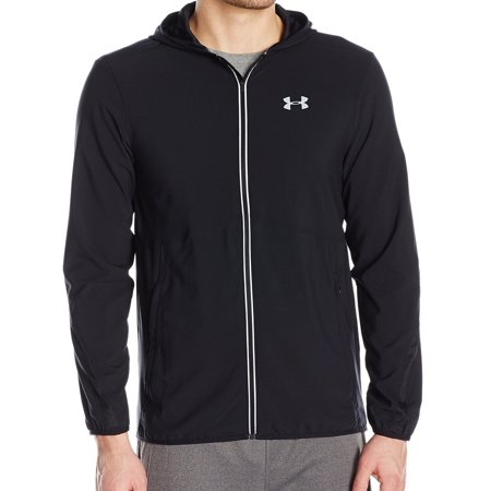 Under Armour Mens Small Fitted Track Jacket Activewear Mens Athletic Active Jacket