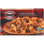 Boston Market Home Style Meals: In A Rich Sour Cream & White Wine Sauce w/Noodles Swedish Meatballs, 16 Oz