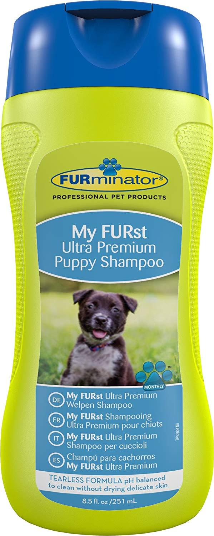 FURminator My FURst Ultra Premium Puppy Shampoo for Dogs, 16 oz. by Spectrum Brands
