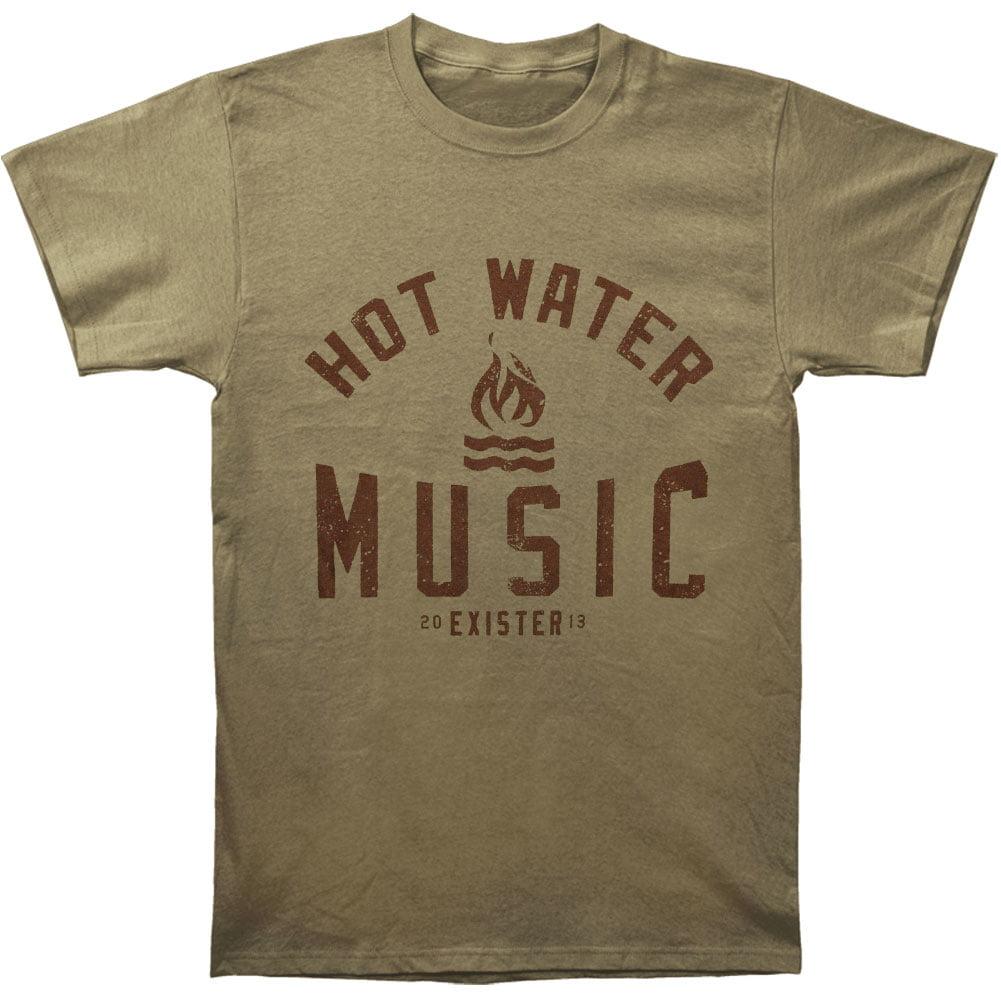 Hot Water Music Men's  Exister T-shirt Green
