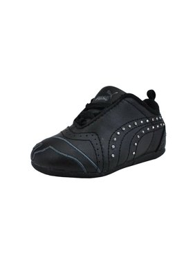 Product Image Puma Shoes Sela Diamond Rhinestone Infant Toddler Girls Black  Sneakers 25db73302
