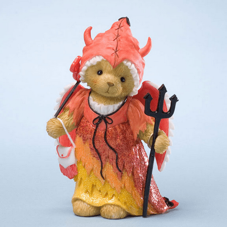 Cherished Teddies Halloween Devlin Devil I Love Your Devilish Smile](Jack White Halloween Dublin)