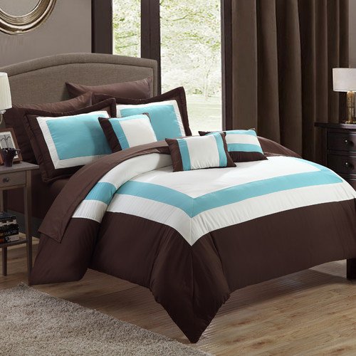 Chic Home Duke 10 Piece Bed in a Bag Comforter Set
