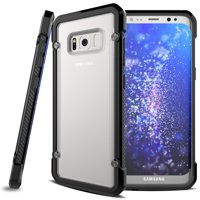 Samsung Galaxy S8 Drop-proof Hybrid Case Slim Fit Armor Bumper Cover Protective Skin w Drop Protection