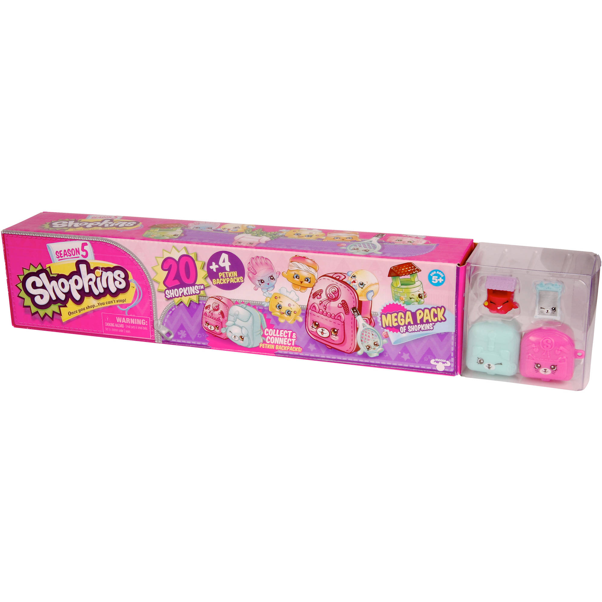 Shopkins Mega Pack Season 5 Walmart