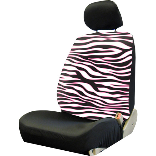 Plasticolor Pink Safari Low Back Seat Cover, Pink