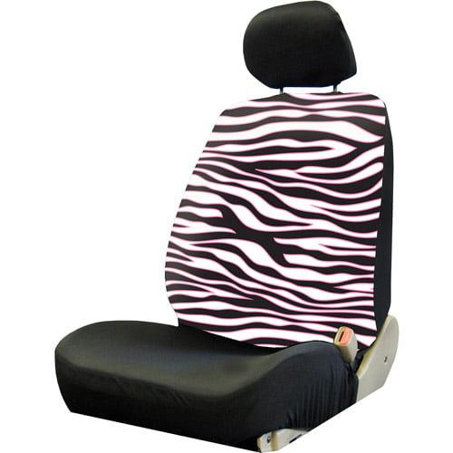 Plasticolor Pink Safari Low Back Seat Cover, Pink