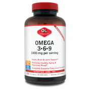 Olympian Labs Omega 3-6-9 Dietary Supplement, 2400mg, 100 count
