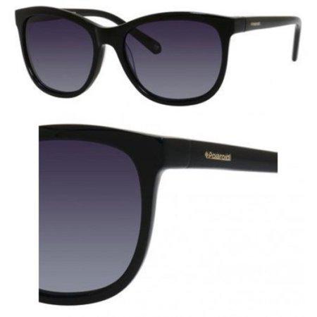 2ff0a9d521e Polaroid - PLD 4004/S 0807 WJ Black 55mm Polaroid PLD 4004/S Cat Eye Woman  Polarized Sunglasses - Walmart.com
