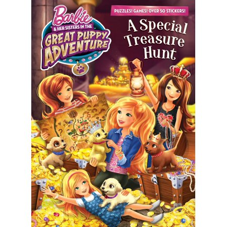 A Special Treasure Hunt (Barbie and Her Sisters in The Great Puppy Adventure) - Treasure Hunt Halloween Clues