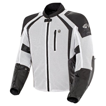 Joe Rocket Phoenix Ion Mens White Mesh Jacket