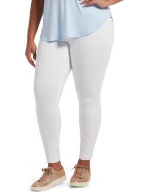 HUE Womens Plus Size High-Waist Denim Leggings Style-U20652X