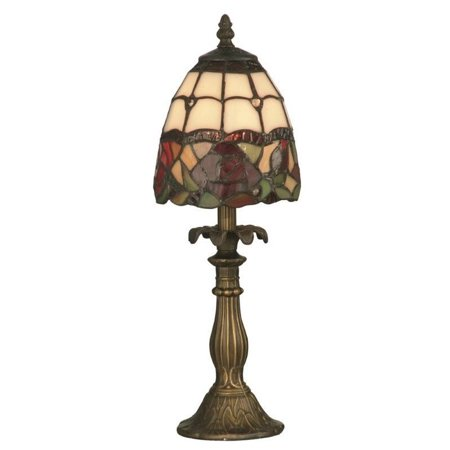 Dale Tiffany Enid Table Lamp (Dale Tiffany Brass Antique Table Lamp)