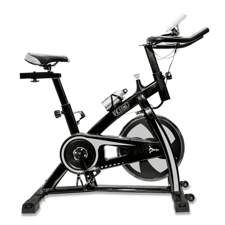 V-FIRE Indoor Training Cycling Workout Fitness Bike for Cardio white