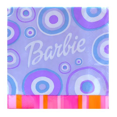 Barbie Trendy 'Hip Barbie' Small Napkins (16ct)