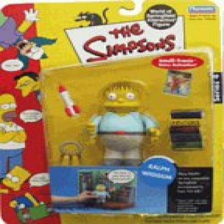 Simpsons Series 4 Ralph Wiggum Action - Ralph Simpsons