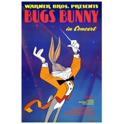 Bugs Bunny in Concert (1956) 27x40 Movie Poster by Pop Culture Graphics