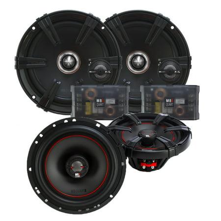 """MB Quart Z-Line Series 6.5"""" Component Set and X-line 6.5"""" Coaxial speaker bundle"""