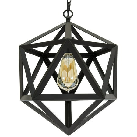 Best Choice Products 12in Industrial Wrought Iron Chandelier Light Fixture for Home, Dining Room, Cafe - Black](black friday chandelier deals)