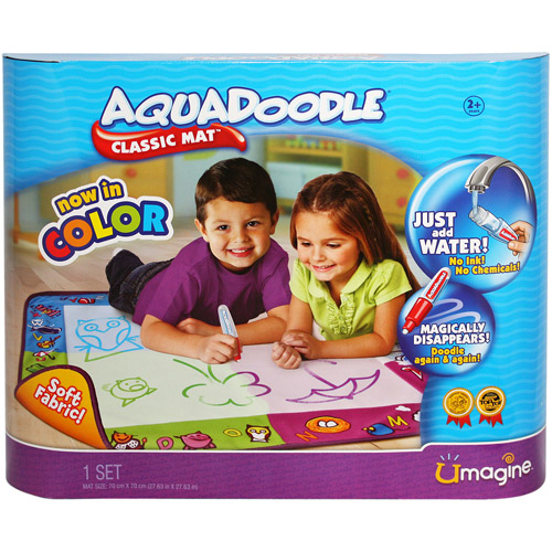 AquaDoodle Draw N Doodle Classic Mat In Factory Plastic w// No Box  *NEW*