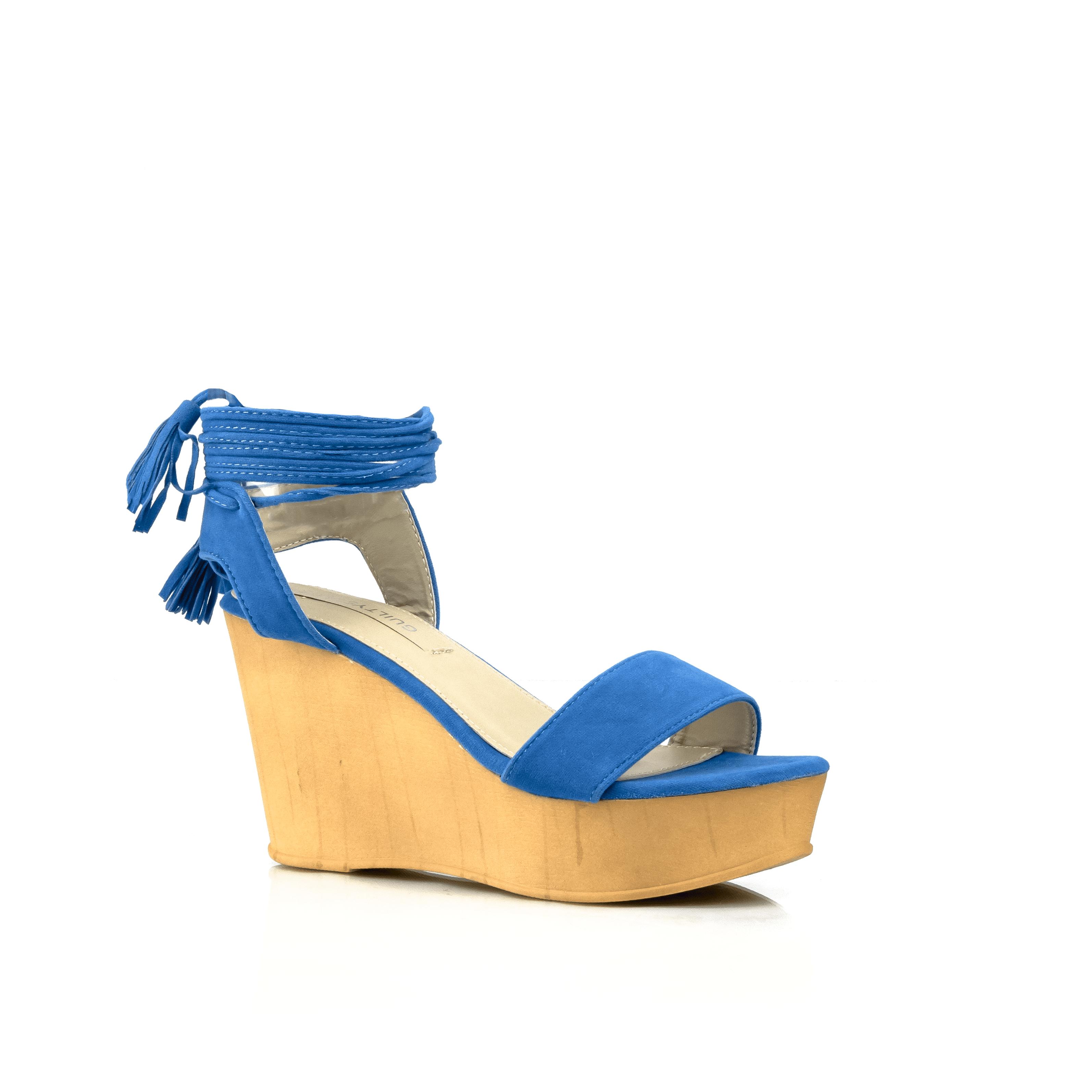 CALI Ankle Wrap Wrap Ankle Wedges, Blue, 8 e1ceb9