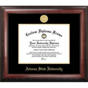 Arizona State University Gold Embossed Diploma Frame