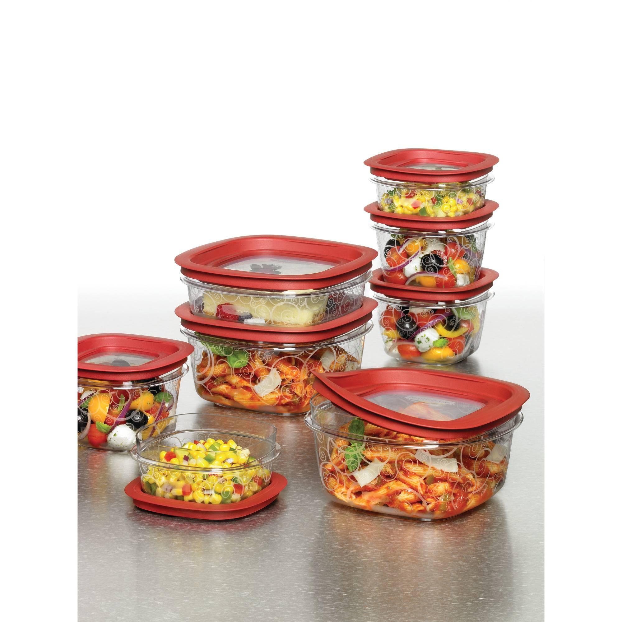 Rubbermaid 16-Piece Premier Food Storage Set