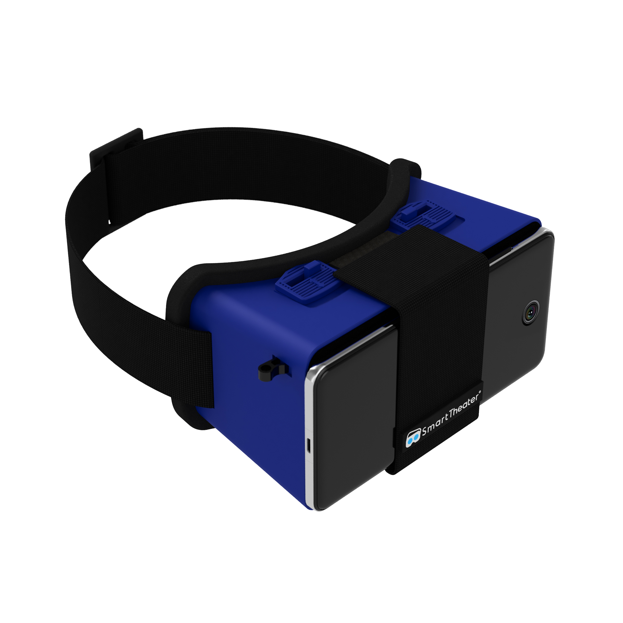 Smart Theater VR Headset- Blue