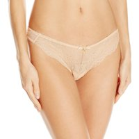 Gossard Womens Superboost Lace Thong, M, Nude