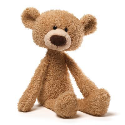 Gund Toothpick Beige Bear - Gund Satin Teddy Bears