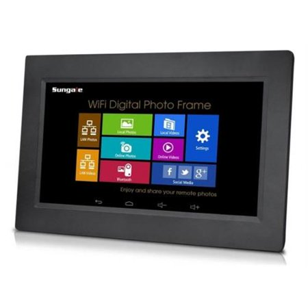 """Sungale 10.1"""" WiFi Digital Picture Frame"""