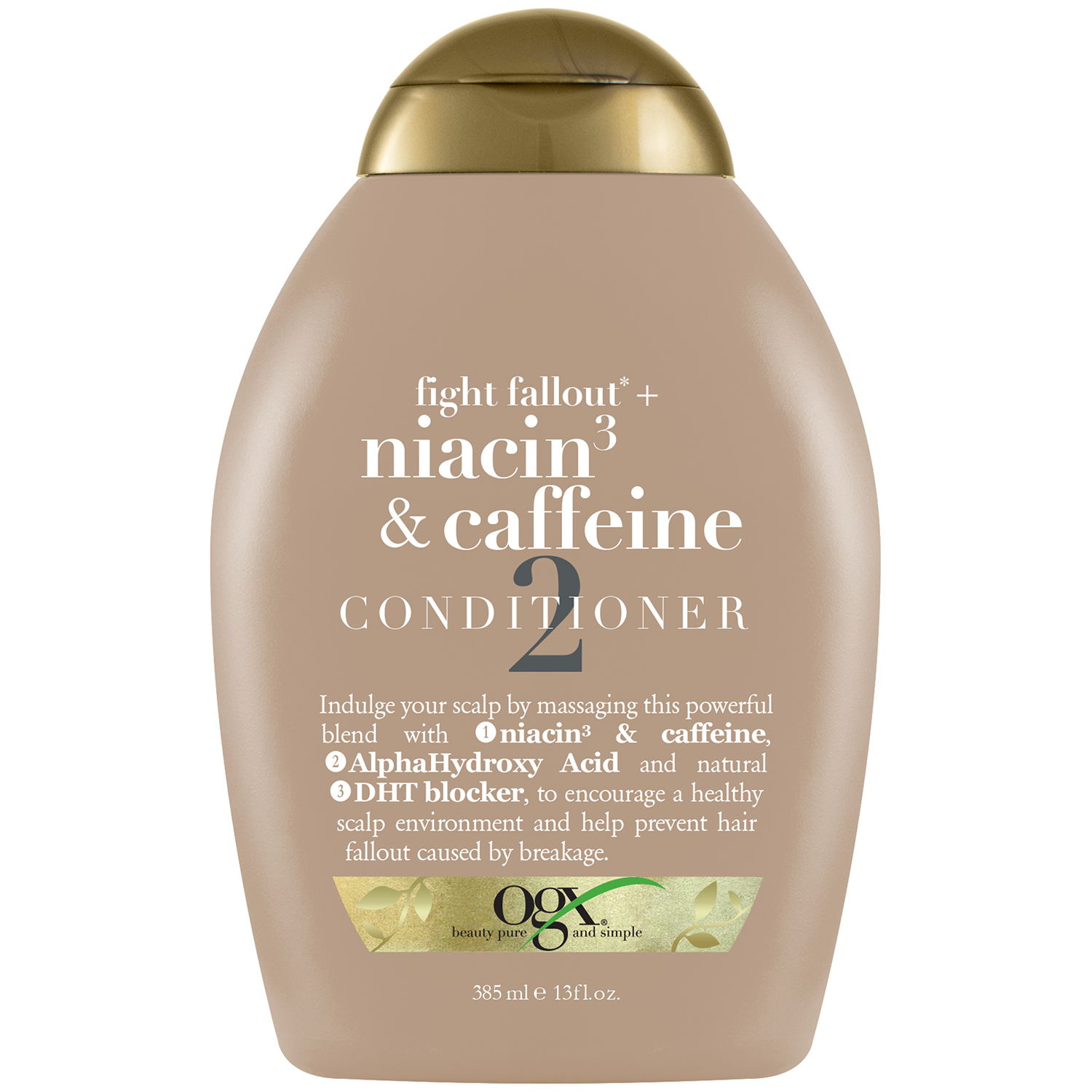 OGX Niacin3 & Caffeine Conditioner, 13.0 FL OZ