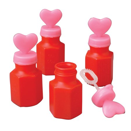 Valentine Bottle With Heart Lid and Wand 3