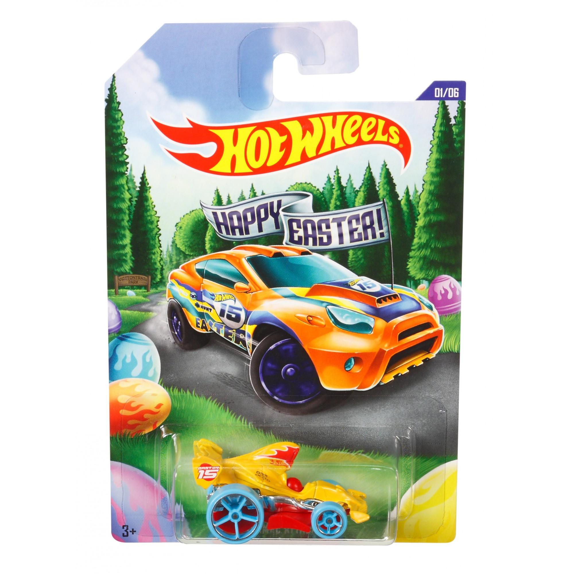 Hot Wheels Easter Diecast Vehicle (Styles May Vary) by Mattel