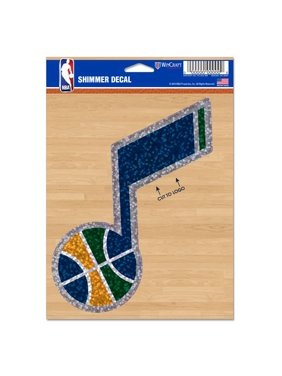 "Utah Jazz WinCraft 5"" x 7"" Shimmer Decal"
