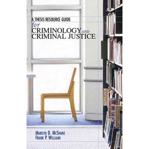 Criminology thesis