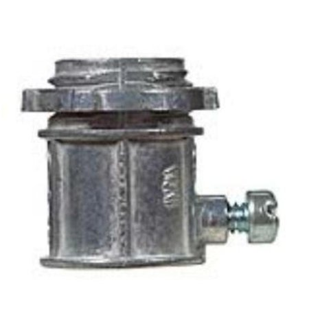 Sigma 1/2 in. Dia. Zinc Set Screw Connector EMT