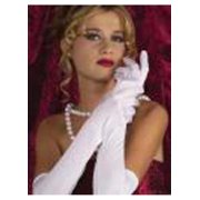 Adult 18 Inch White Nylon Gloves Jacobson Hat 18992