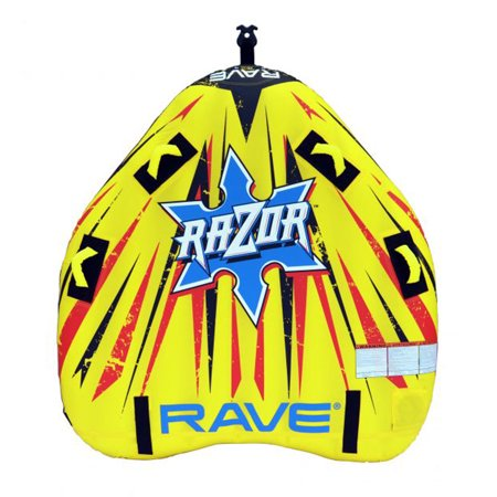 RAVE Sports Razor Inflatable 2 Person Rider Towable Boat Lake Water Tube