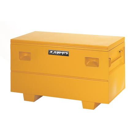 Lund 08036Y Steel Job Site Storage Box/Chest