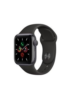 Apple Watch Series 5 GPS -40mm -Sport Band - Silver Aluminum Case - S/M & M/L