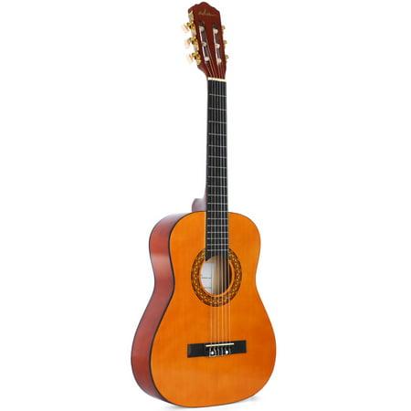 ADM Student Beginner Guitar 1/2 Size 34 Inch Classical Guitar for Age 6-12 Starter Nylon Strings Guitar for Boy Girl