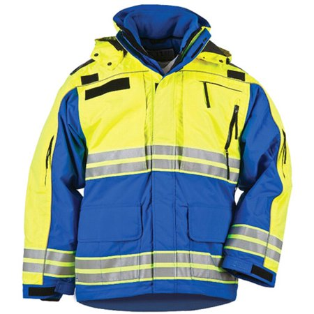 Image of 5.11 TACTICAL 48073-693-M Responder High-Visibility Parka, Royal Blue, Medium