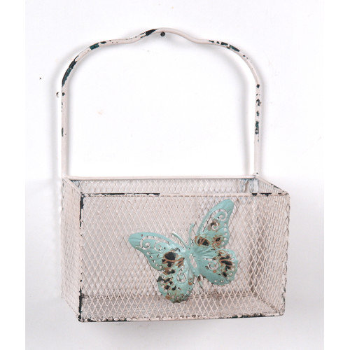 Wilco Home Butterfly Wall Basket